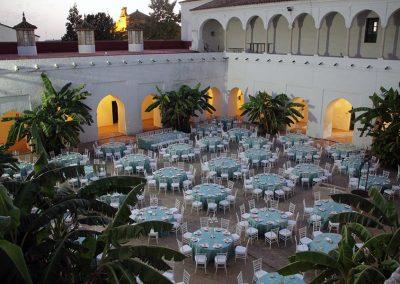 Claustro Monasterio de Santa Clara en Moguer