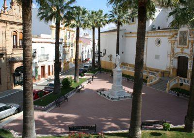 Plaza del Corazón de Jesús.
